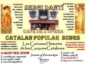 Único espectáculo que difunde la cultura catalana entre los mas de 7 millones de turistas que nos visitan